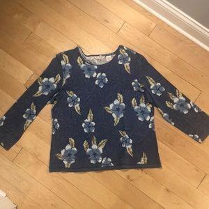Tommy Bahama XL printed women's shirt